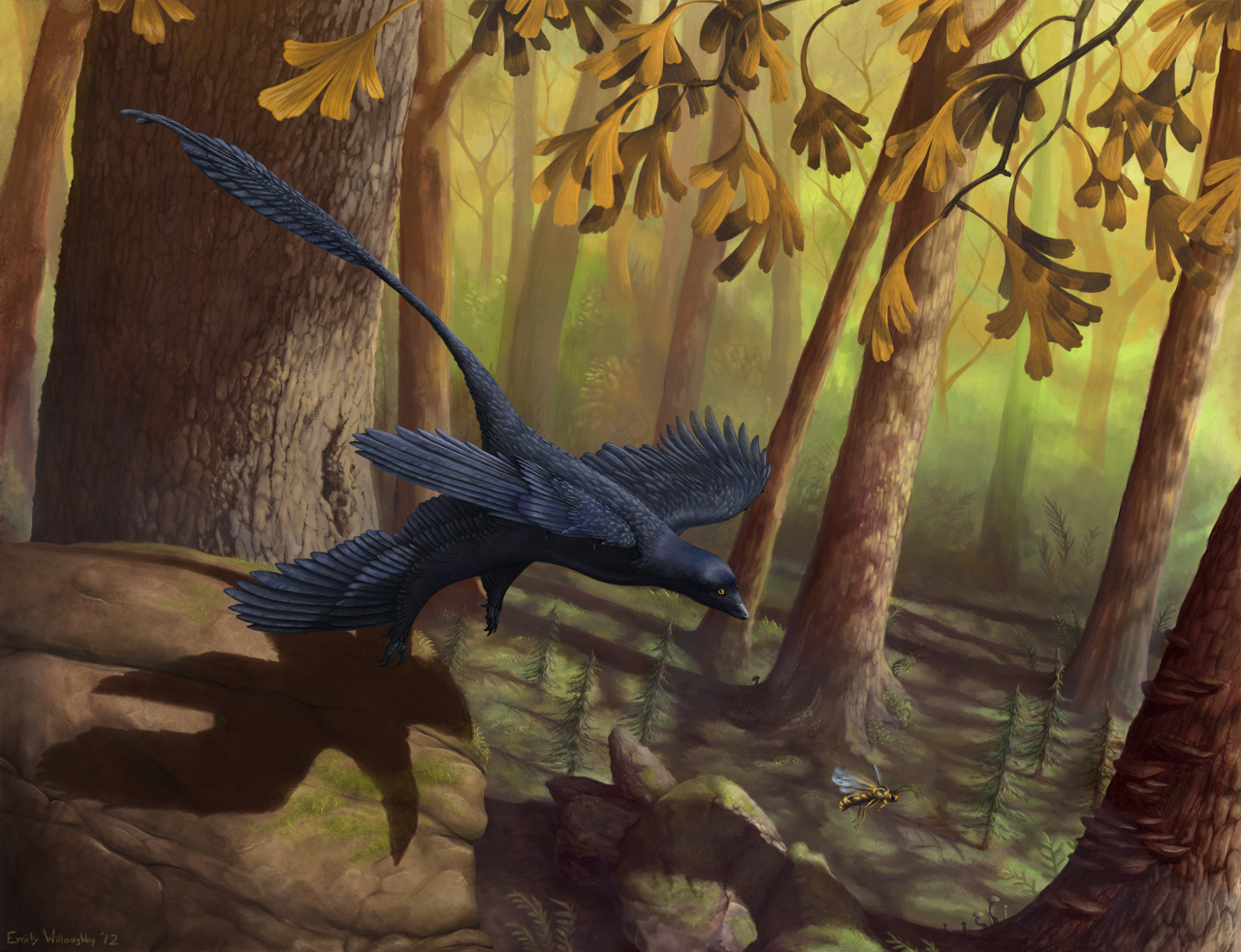 microraptor in volo